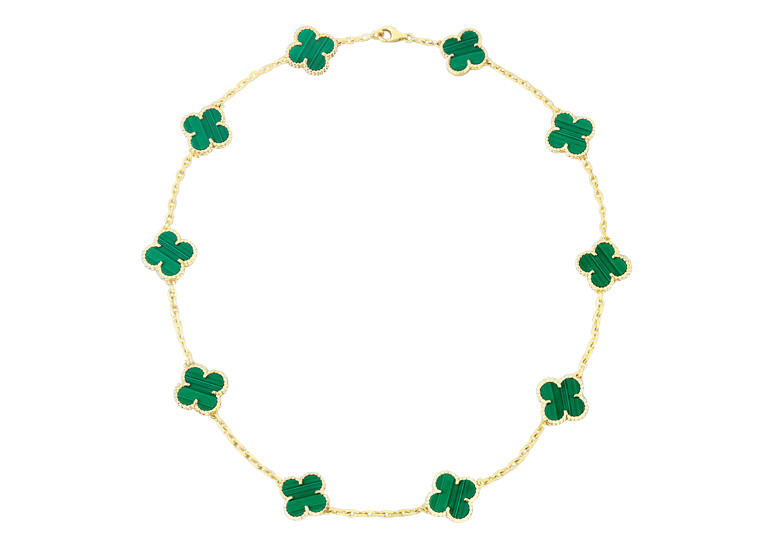 replica van cleef and arpels alhambra necklace