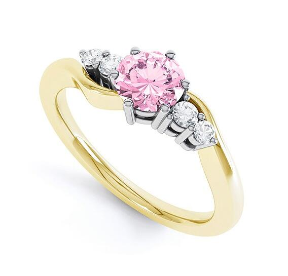 'Tickled-Pink' ring